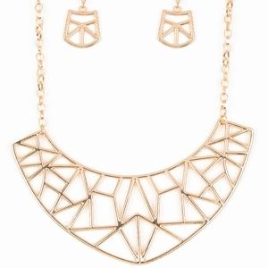 **5 for $25** Gold Necklace and Earrings